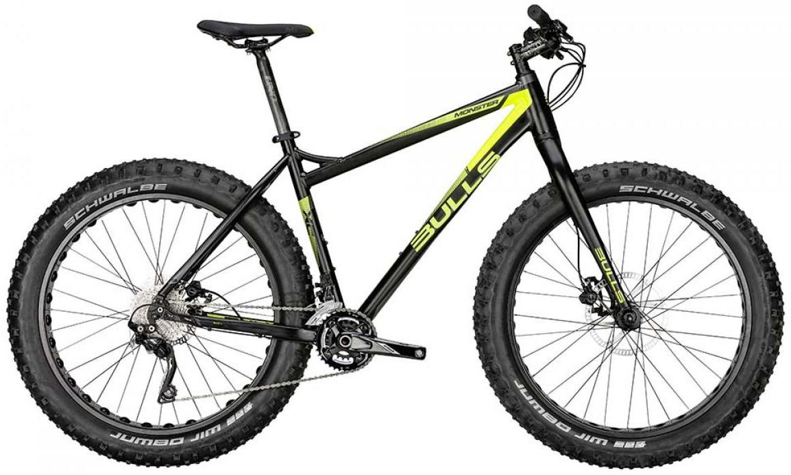 Велосипед горный Bulls Monster 2015, цвет: черный, рама 20, колесо 26128729