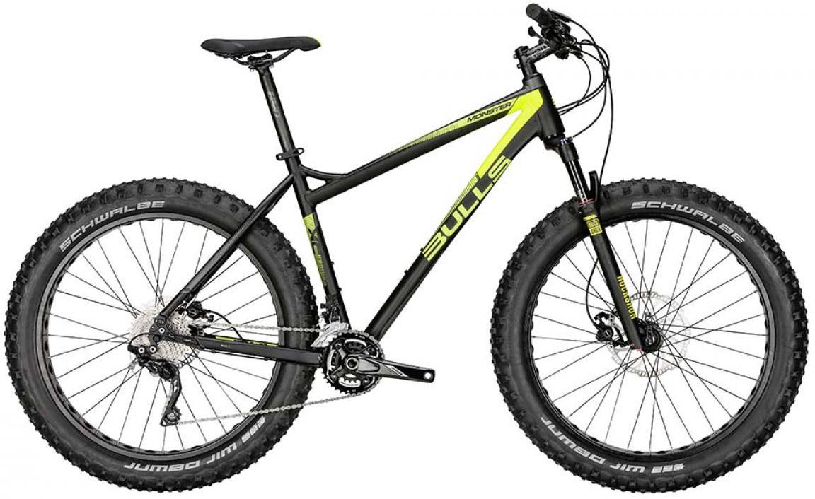 Велосипед горный Bulls Monster S 2015, цвет: черный, рама 20, колесо 26128732