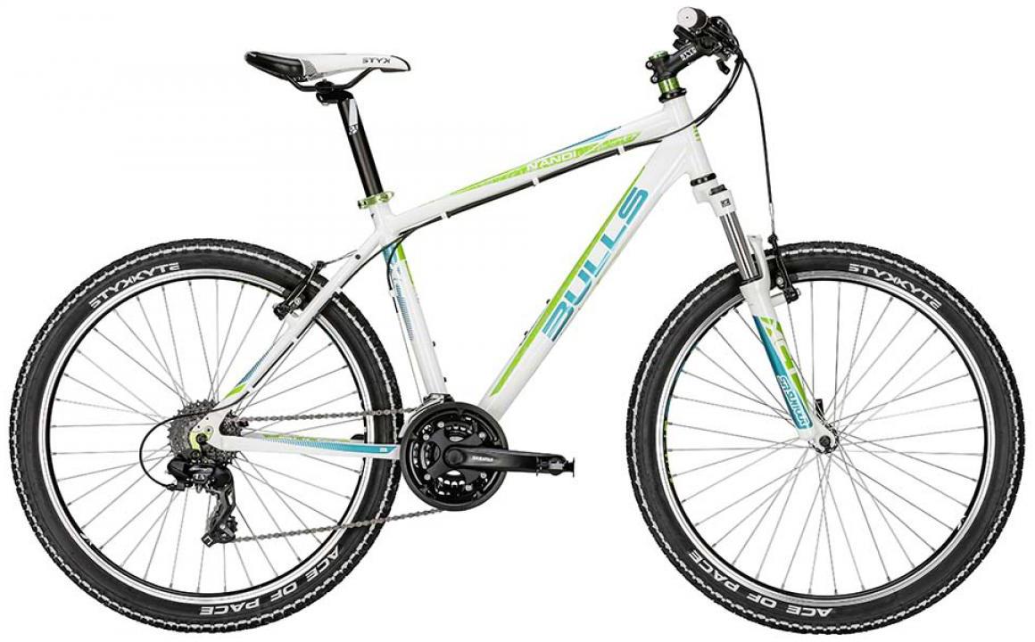 Велосипед женский Bulls Nandi 2015, цвет: белый, рама 16, колесо 26128734