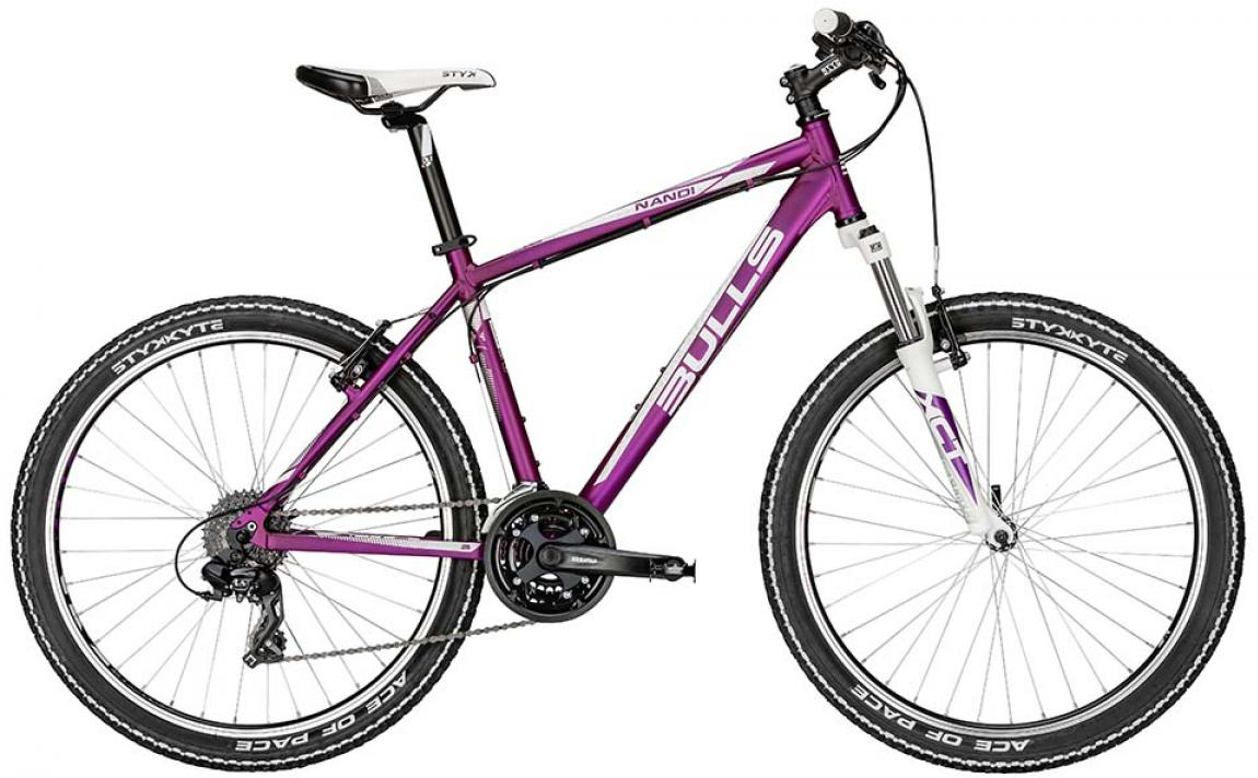 Велосипед женский Bulls Nandi 2015, цвет: фиолетовый, рама 20, колесо 26128740