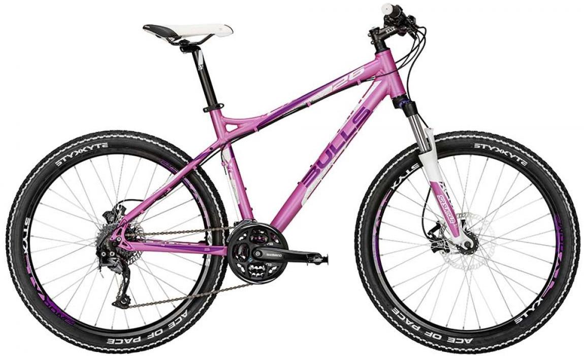 Велосипед женский Bulls Zarena 2015, цвет: розовый, рама 18, колесо 26128743