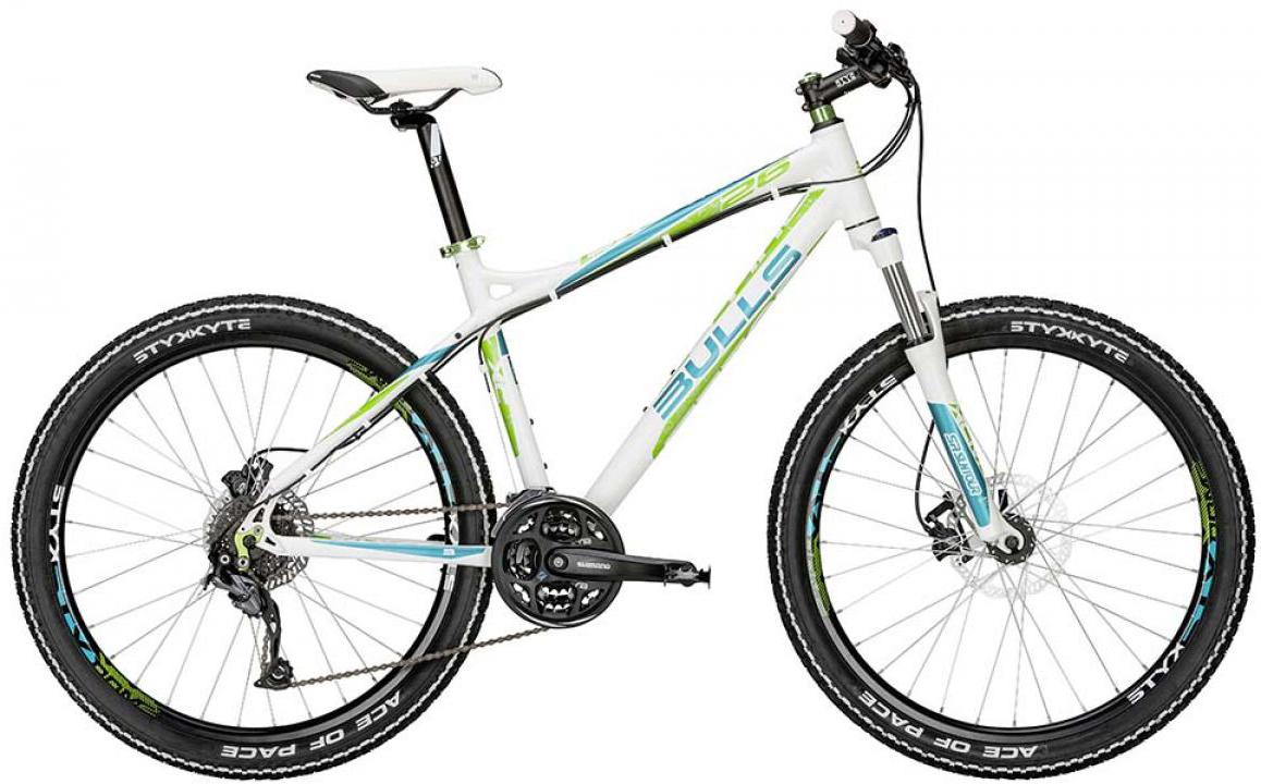 Велосипед женский Bulls Zarena 2015, цвет: белый, рама 16, колесо 26128746