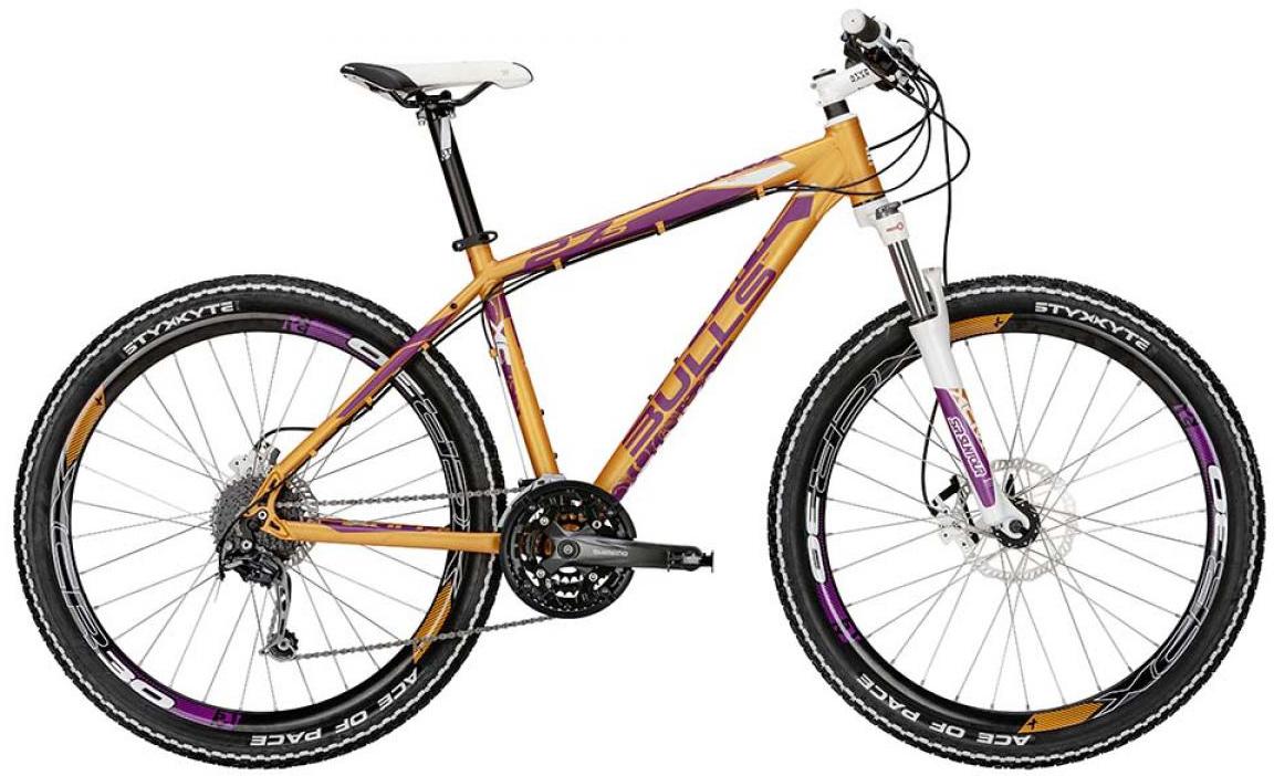 Велосипед женский Bulls Vanida Disc 2015, цвет: оранжевый, рама 18, колесо 27,5128760