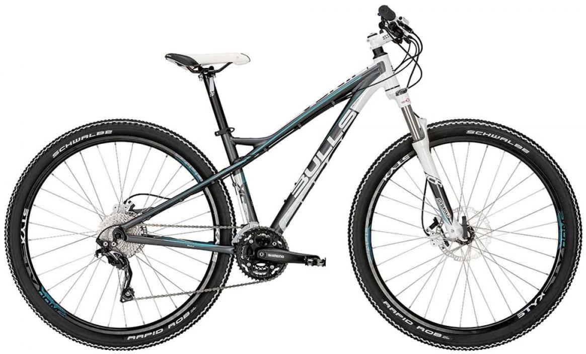 Велосипед женский Bulls Jinga 2015, цвет: белый, рама 14,5, колесо 29128762