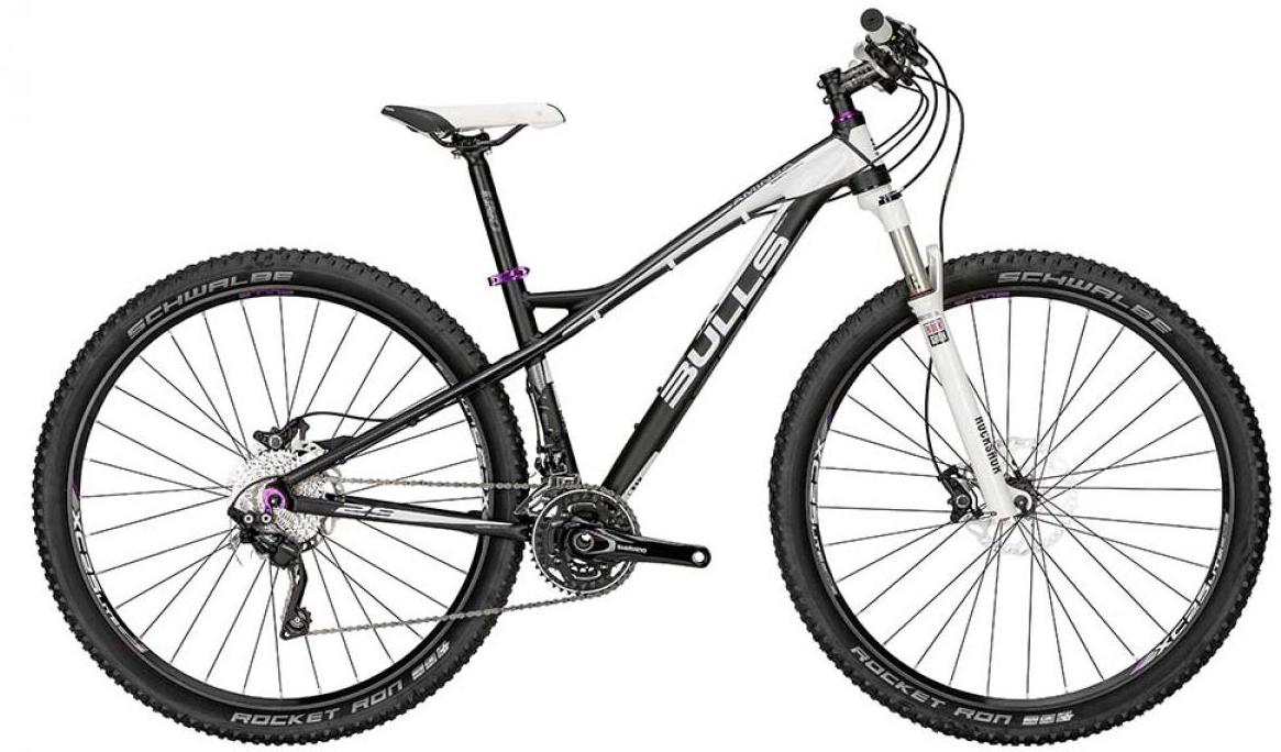 Велосипед женский Bulls Aminga 2015, цвет: черный, рама 14,5, колесо 29128767
