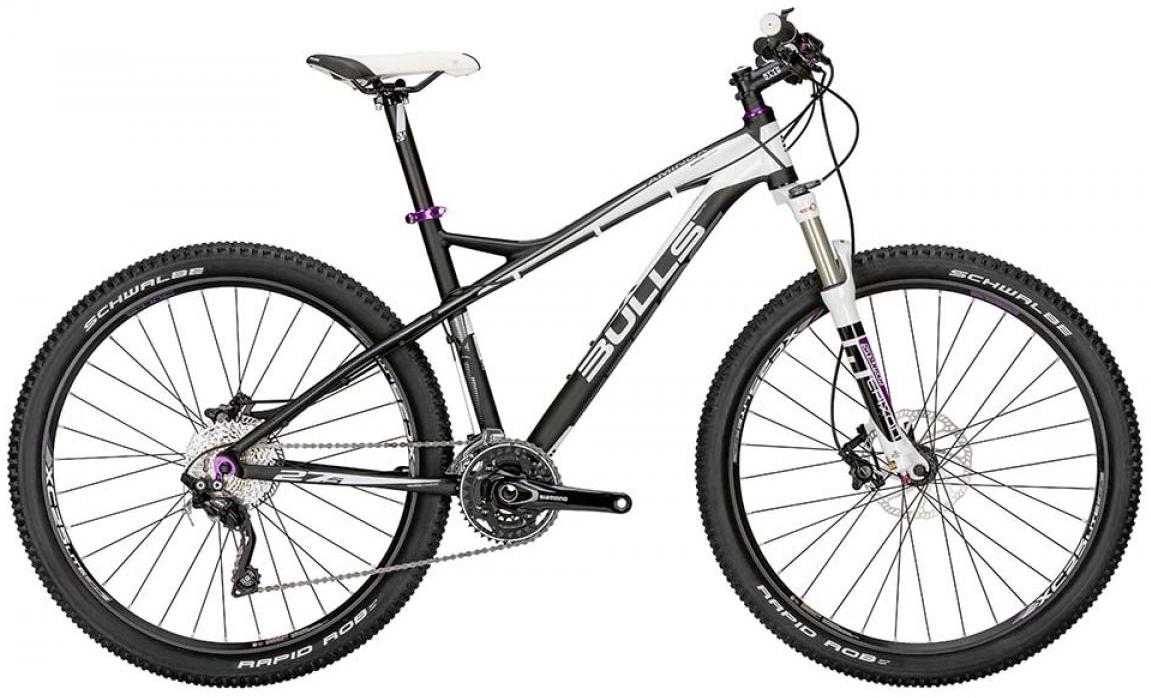 Велосипед женский Bulls Aminga Six50 2015, цвет: черный, рама 16, колесо 27,5128774