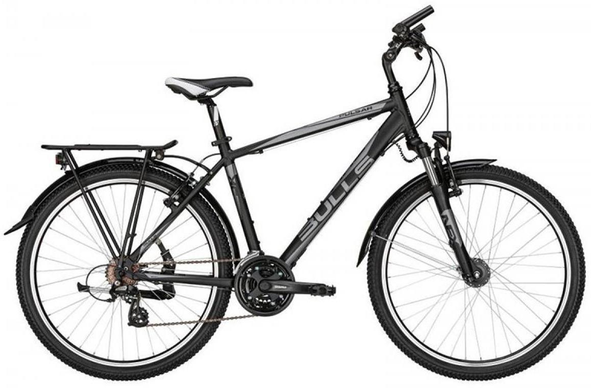 Велосипед горный Bulls Pulsar ATB 2015, цвет: черный, рама 16, колесо 26128784