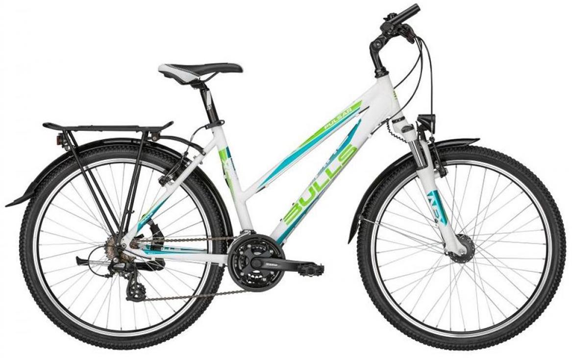 Велосипед женский Bulls Pulsar ATB Lady 2015, цвет: белый, рама 14,5, колесо 26128802