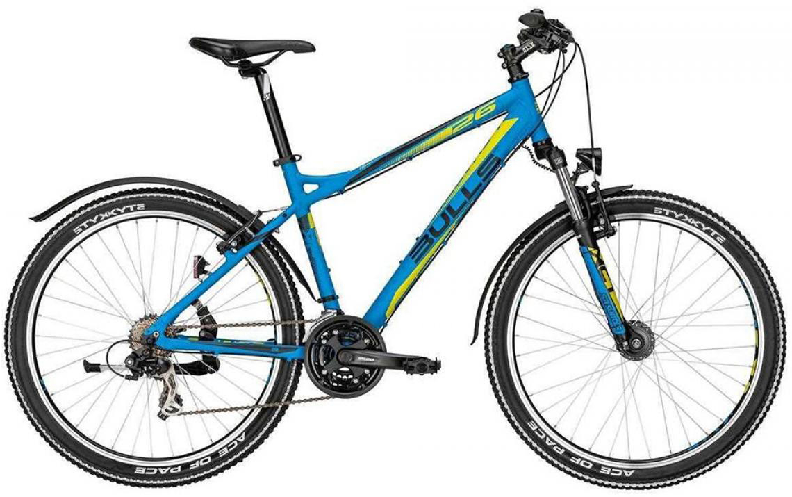 Велосипед горный Bulls Sharptail Street 21-sp. 2015, цвет: синий, рама 16, колесо 26128822
