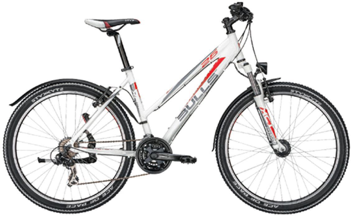 Велосипед женский Bulls Sharptail Street 7 Lady 2015, цвет: белый, рама 18, колесо 26128858