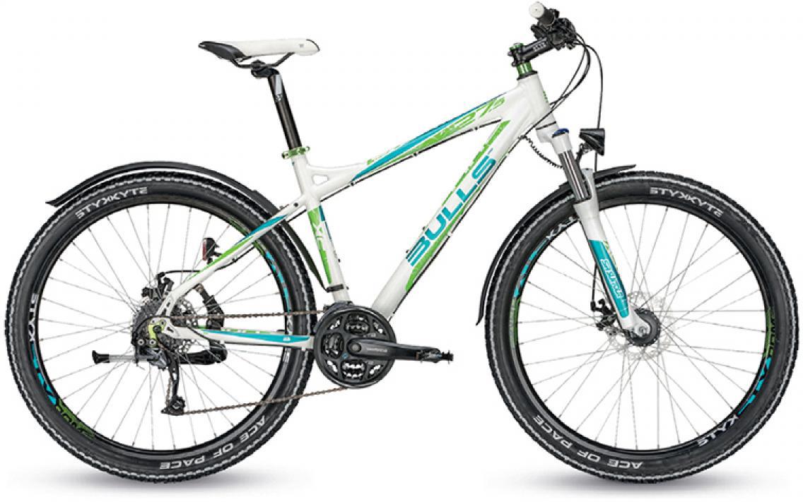 Велосипед женский Bulls Zarena Street Disc 2015, цвет: белый, рама 20, колесо 27,5128897