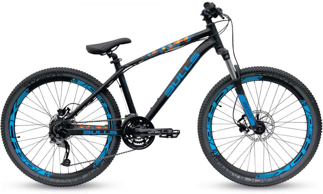 Велосипед горный Bulls Devilzone 2 2015, цвет: черный, рама 16, колесо 26128905