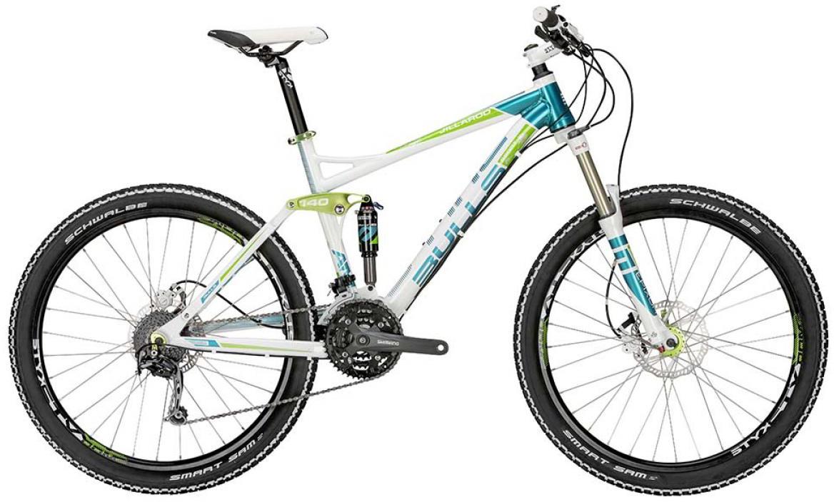 Велосипед горный Bulls Jillaroo 2015, двухподвесный, цвет: белый, рама 17, колесо 27,5128916