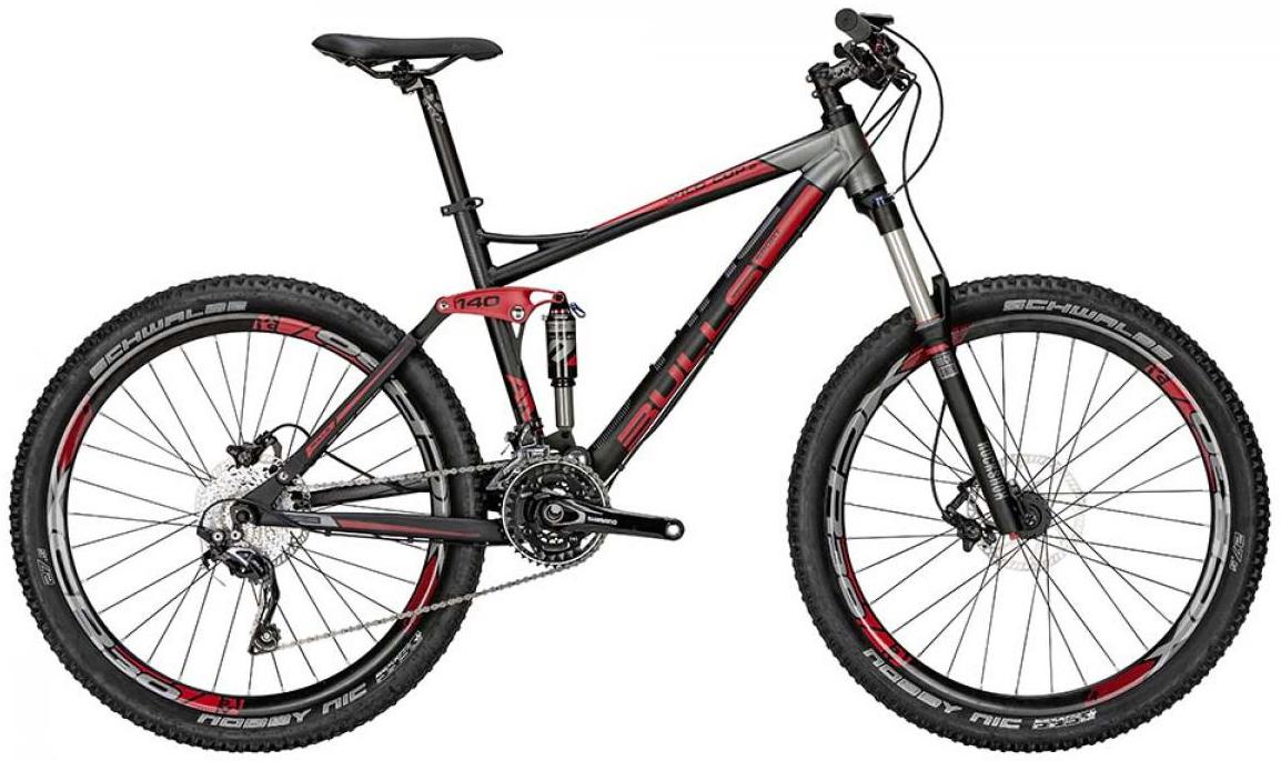 Велосипед горный Bulls Wild Cup 2 2015, двухподвесный, цвет: черный, рама 17, колесо 27,5128919