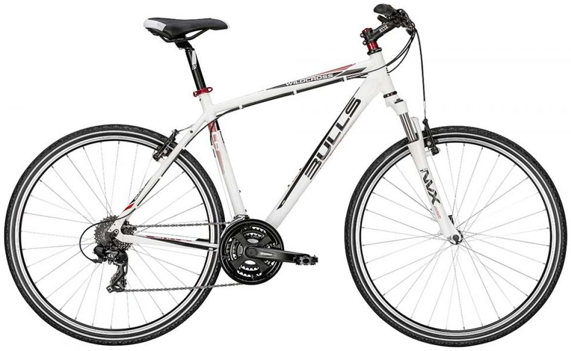Велосипед городской Bulls Wildcross 2015, цвет: белый, рама 17,5, колесо 28128955