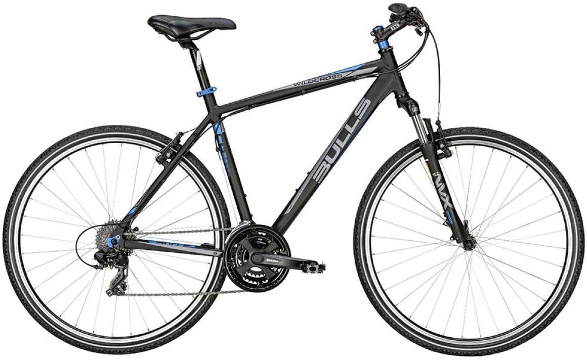 Велосипед городской Bulls Wildcross 2015, цвет: черный, рама 17,5, колесо 28128960