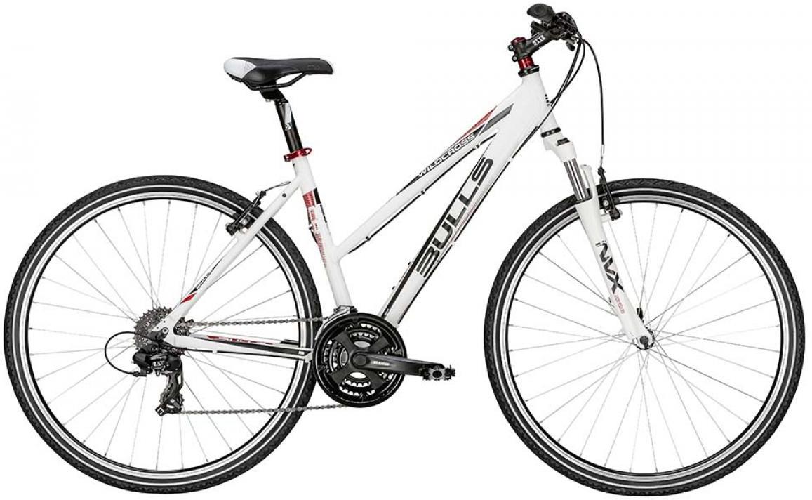 Велосипед женский Bulls Wildcross Lady 2015, цвет: белый, рама 21,5, колесо 28128967