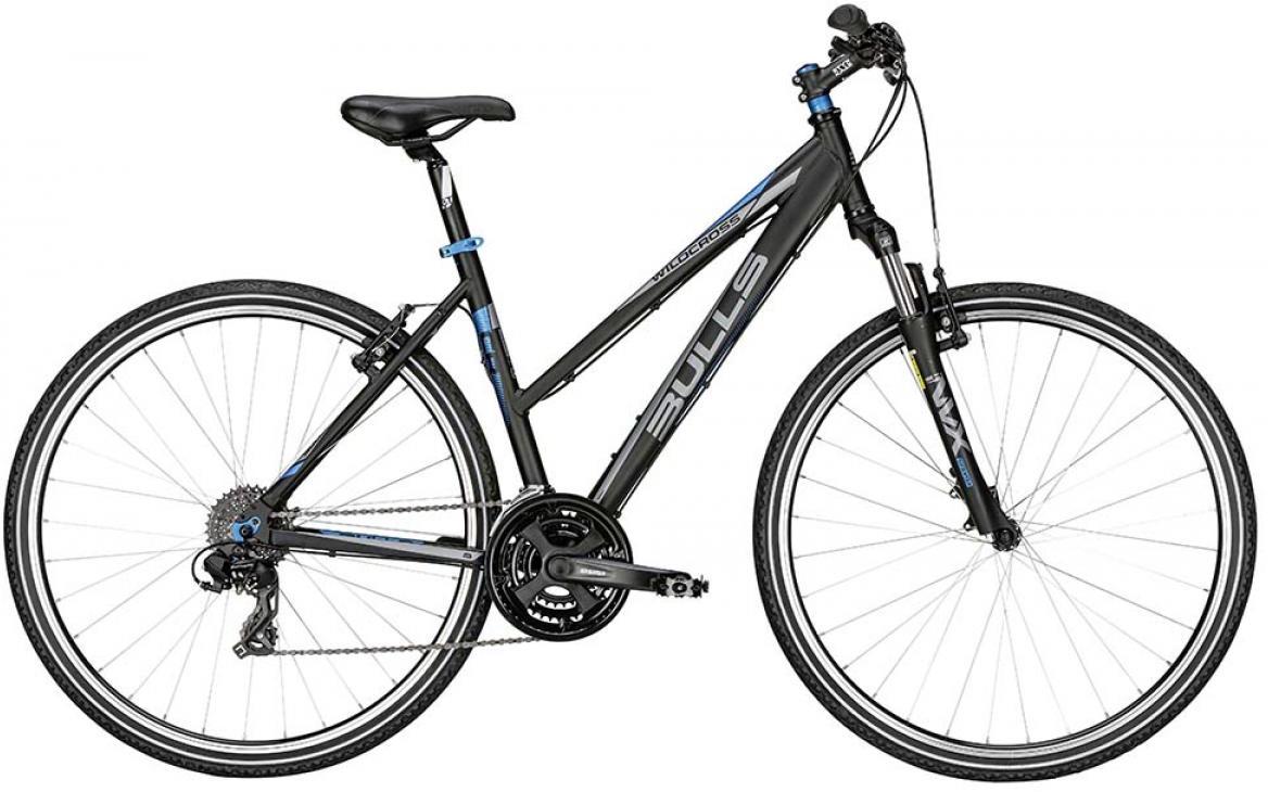 Велосипед женский Bulls Wildcross Lady 2015, цвет: черный, рама 17,5, колесо 28128968
