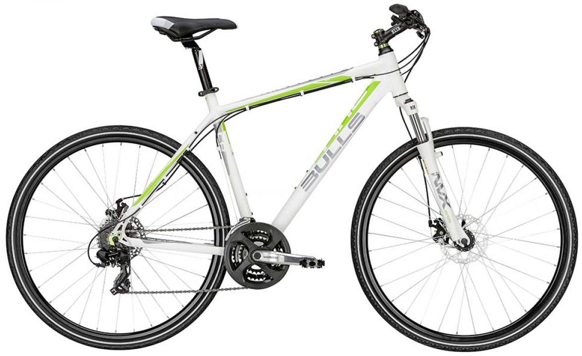 Велосипед городской Bulls Cross Bike 1 2015, цвет: белый, рама 19, колесо 28128980
