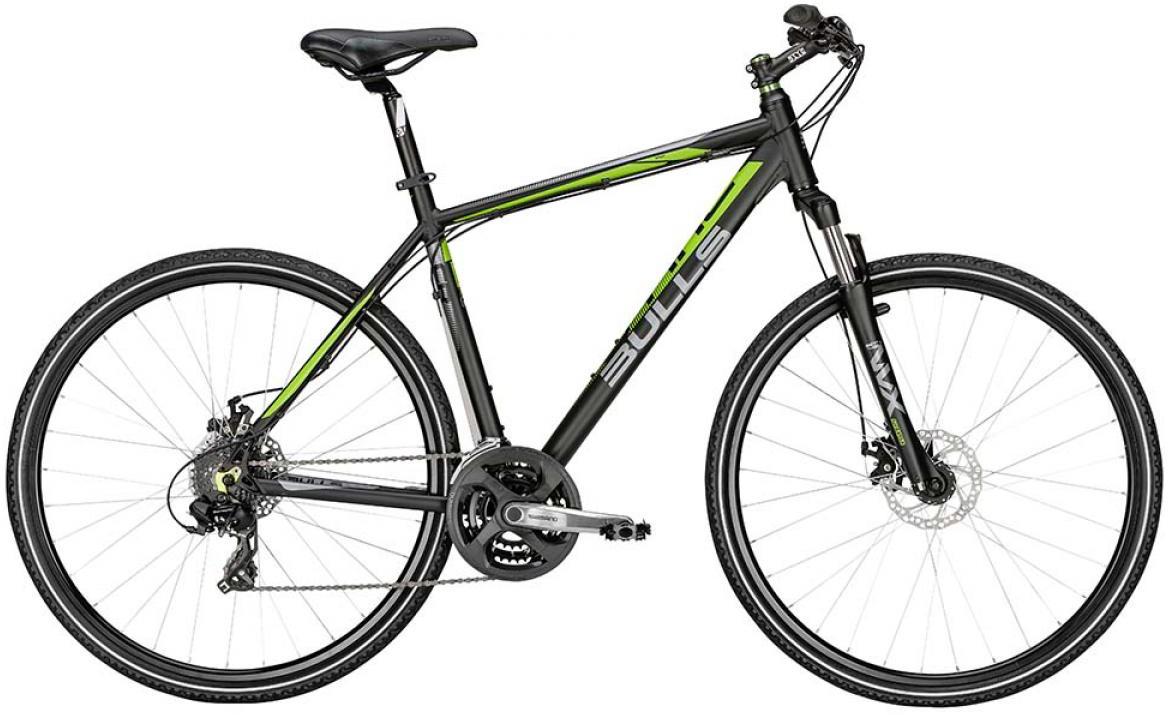 Велосипед городской Bulls Cross Bike 1 2015, цвет: черный, рама 17,5, колесо 28128984