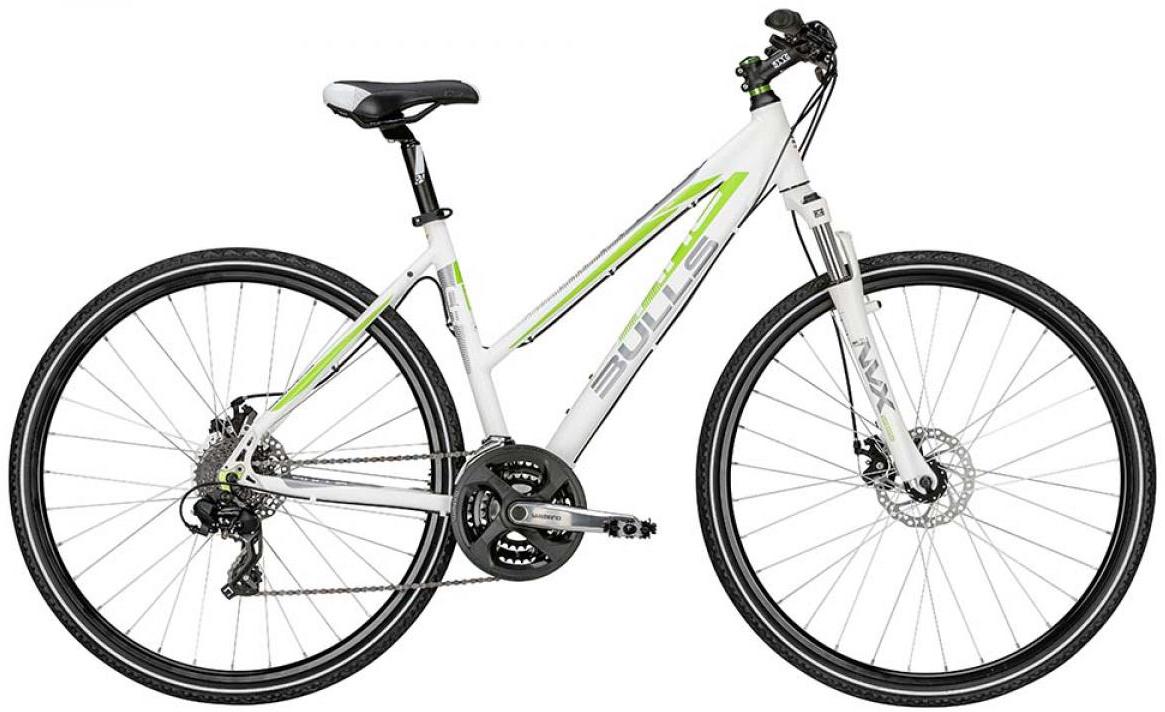 Велосипед женский Bulls Cross Bike 1 Lady 2015, цвет: белый, рама 21,5, колесо 28128991