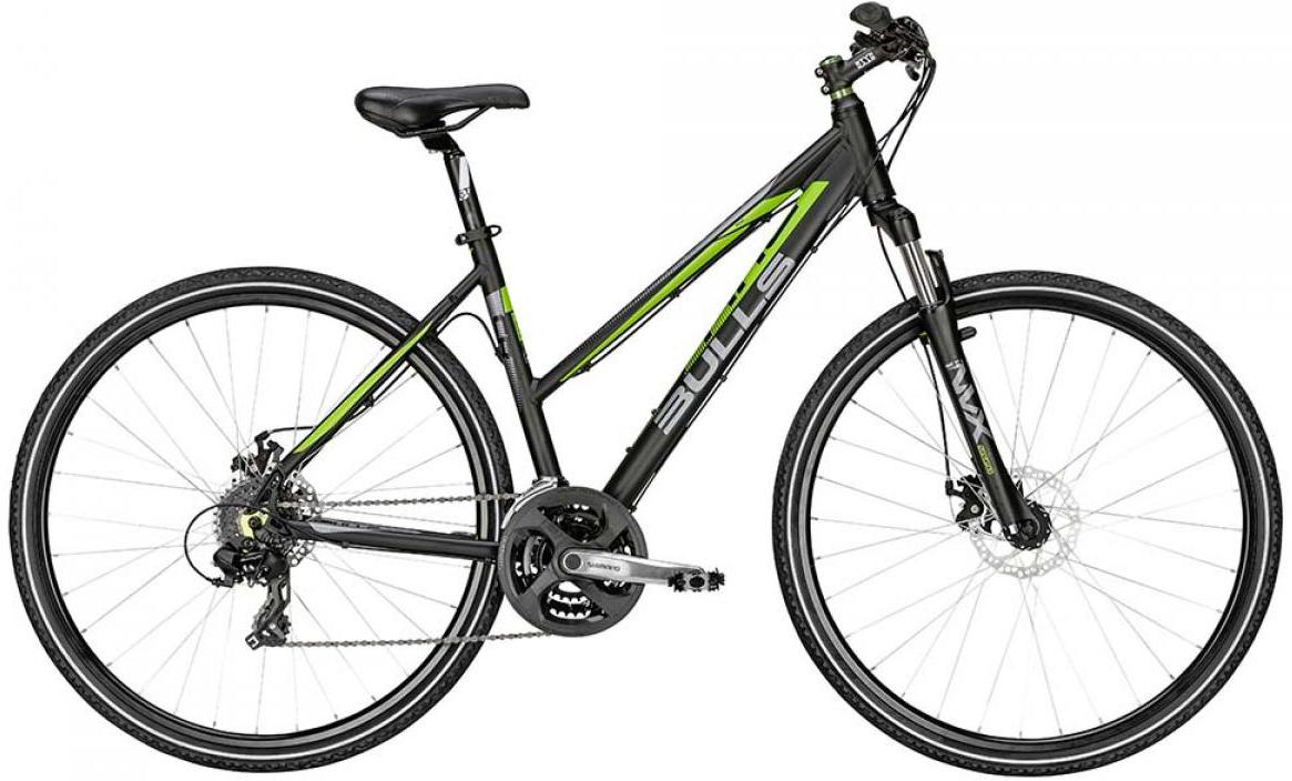 Велосипед женский Bulls Cross Bike 1 Lady 2015, цвет: черный, рама 21,5, колесо 28128994