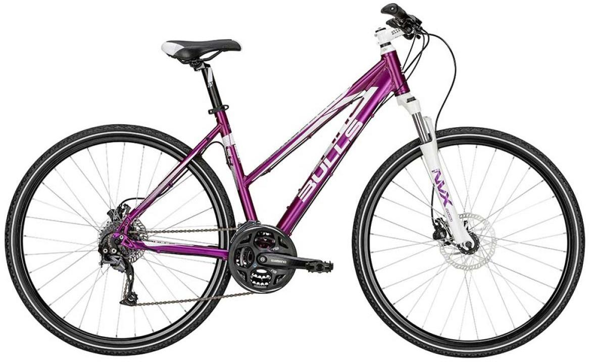 Велосипед женский Bulls Cross Bike 2 Lady 2015, цвет: фиолетовый, рама 17,5, колесо 28128998