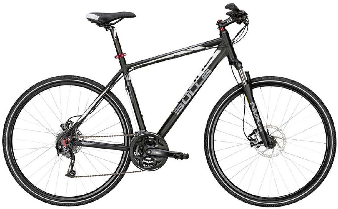Велосипед городской Bulls Cross Bike 2 2015, цвет: черный, рама 17,5, колесо 28129001