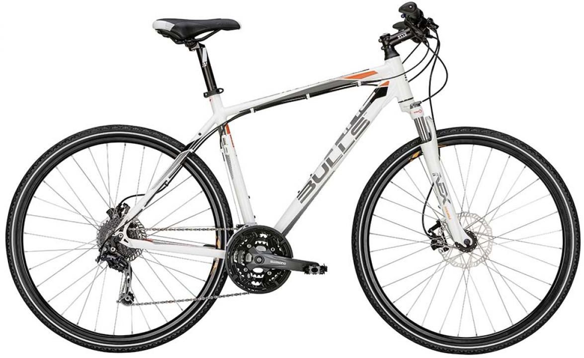 Велосипед городской Bulls Cross Tail 2015, цвет: белый, рама 19, колесо 28129007