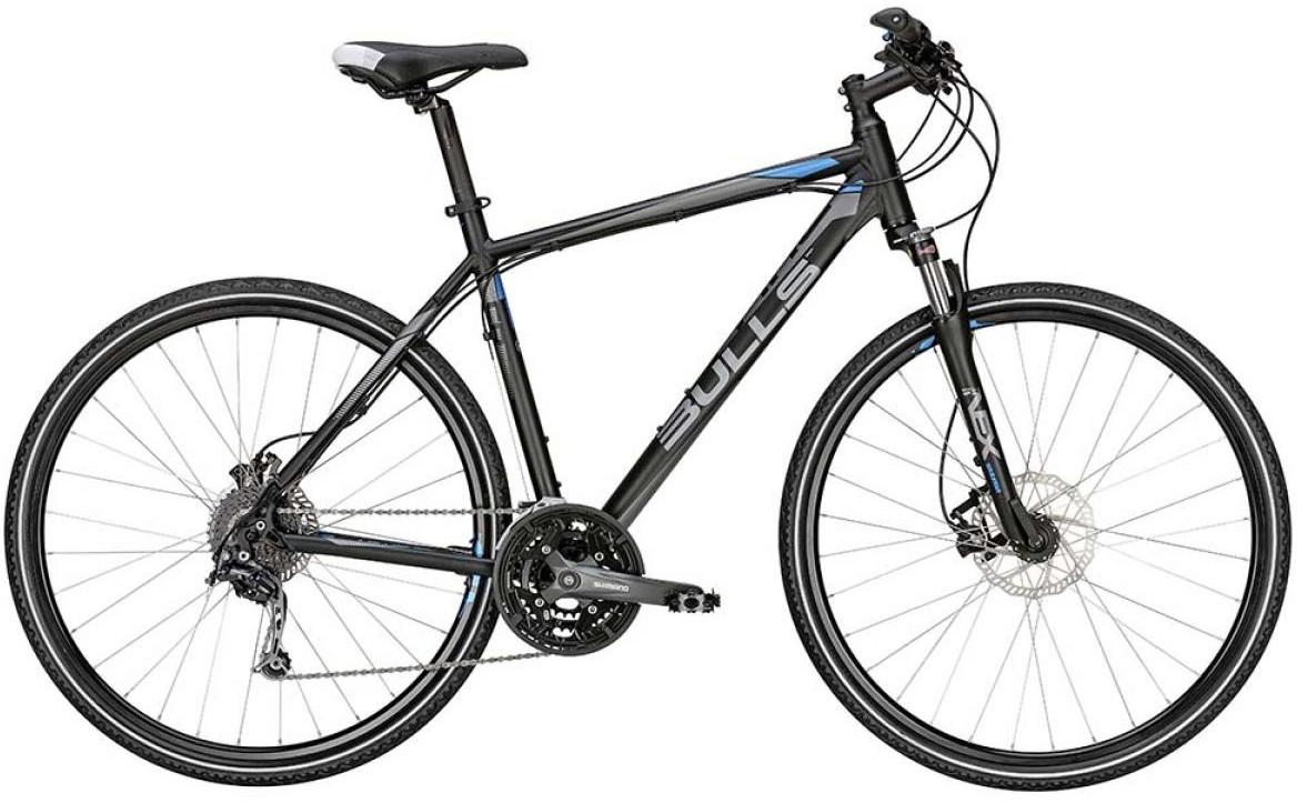 Велосипед городской Bulls Cross Tail 2015, цвет: черный, рама 24, колесо 28129015