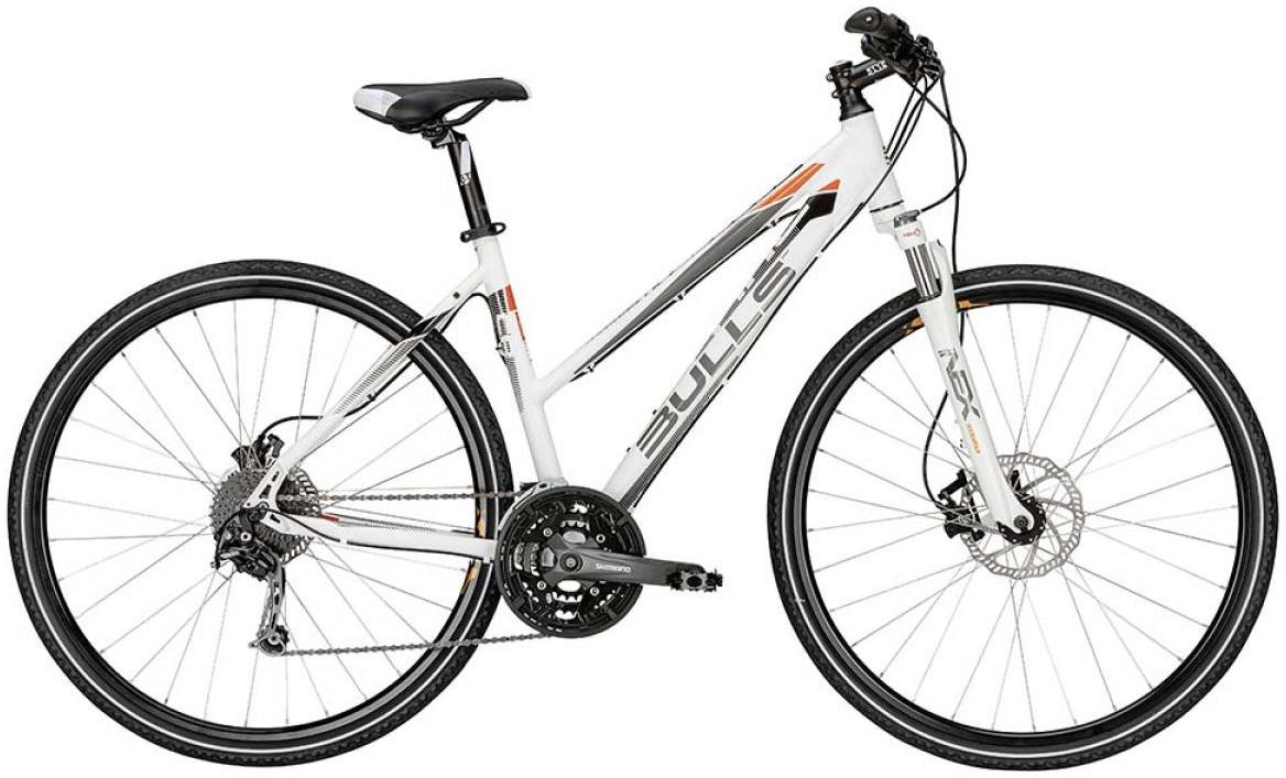 Велосипед женский Bulls Cross Tail Lady 2015, цвет: белый, рама 19, колесо 28129017