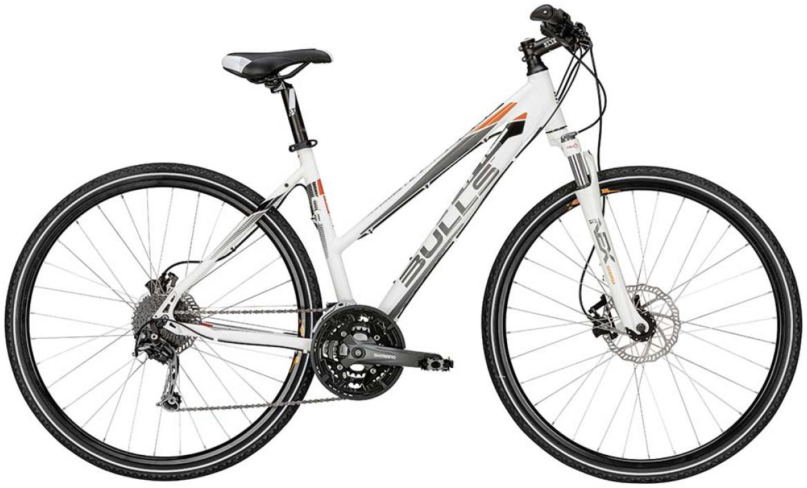 Велосипед женский Bulls Cross Tail Lady 2015, цвет: белый, рама 21,5, колесо 28129018