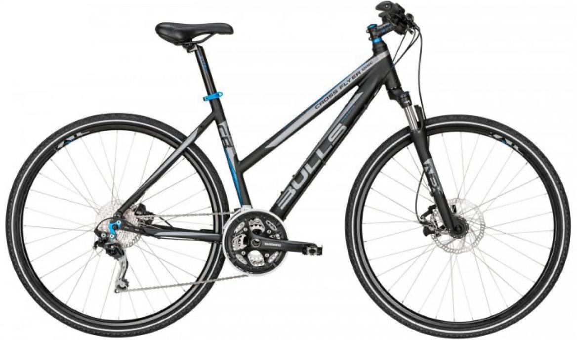 Велосипед женский Bulls Cross Flyer Disc Lady 2015, цвет: черный, рама 17,5, колесо 28129022