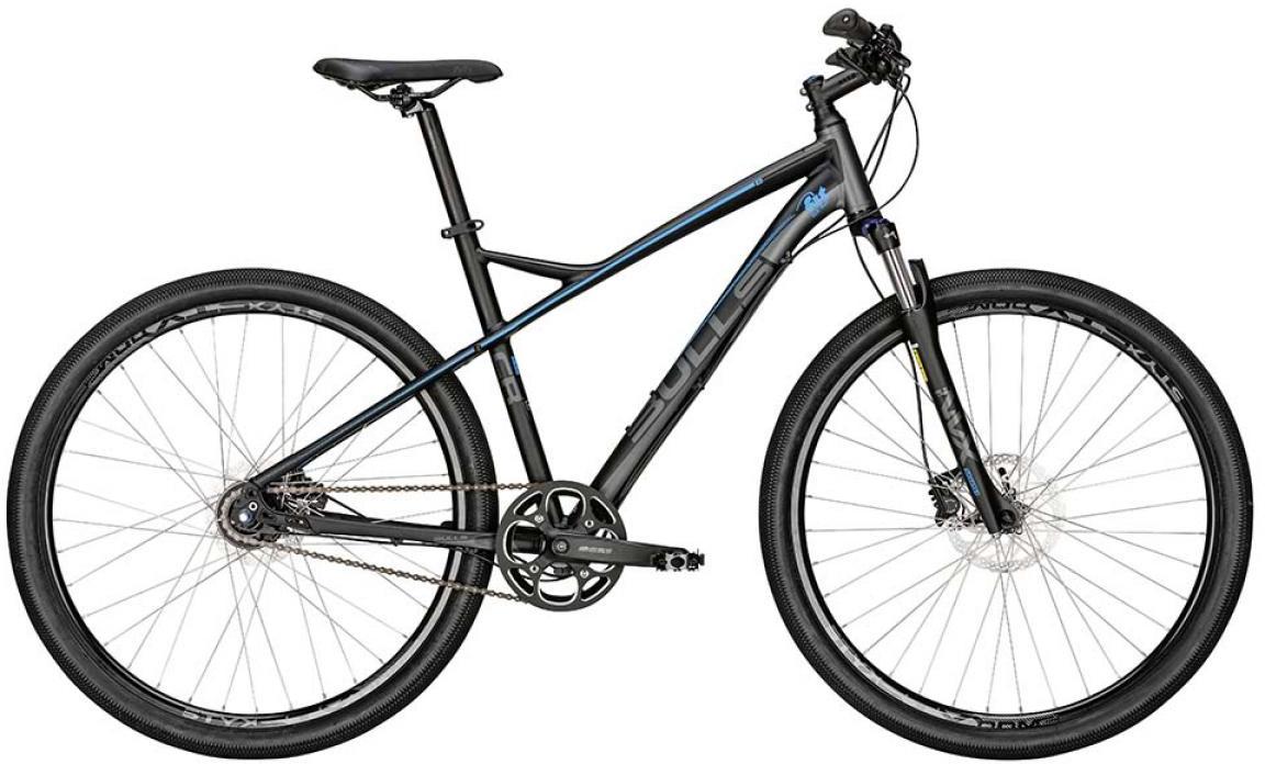 Велосипед горный Bulls Cross Rider 8 Fit for Fun 2015, цвет: серый, рама 21,5, колесо 29129037