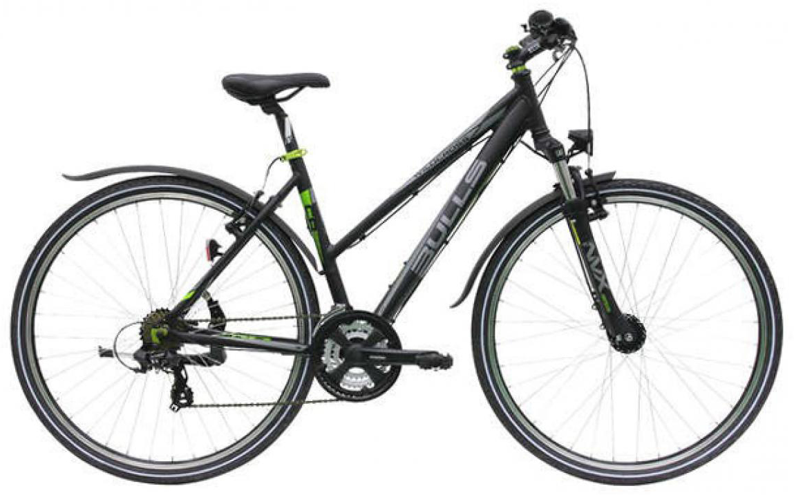 Велосипед женский Bulls Wildcross Street Lady 2015, цвет: черный, рама 17,5, колесо 28129059