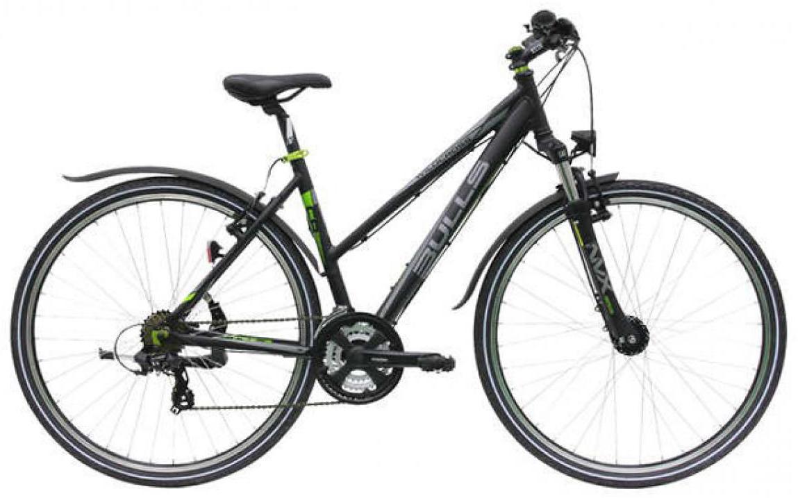 Велосипед женский Bulls Wildcross Street Lady 2015, цвет: черный, рама 21,5, колесо 28129061