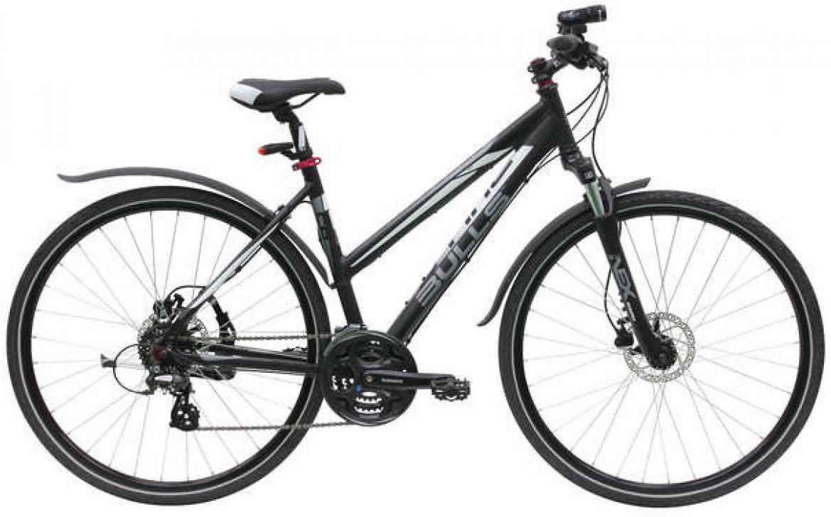 Велосипед женский Bulls Cross Bike Street Lady 2015, цвет: черный, рама 19, колесо 28129069