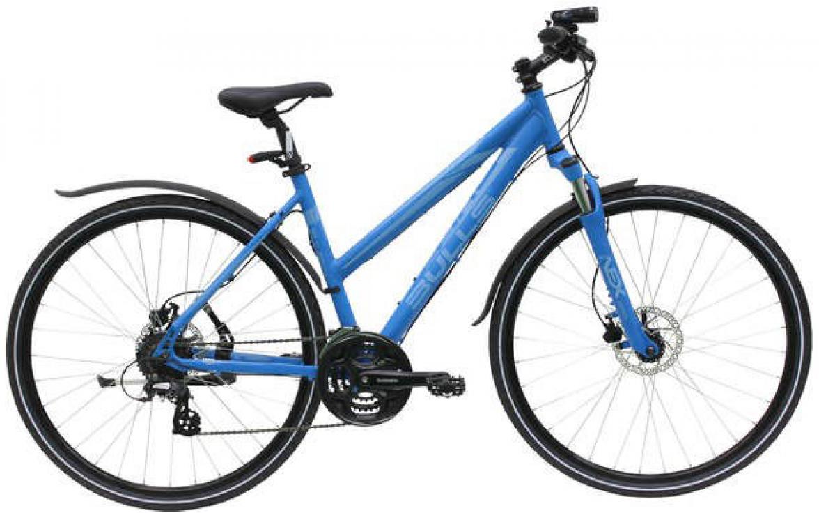 Велосипед женский Bulls Cross Bike Street Lady 2015, цвет: синий, рама 21,5, колесо 28129076