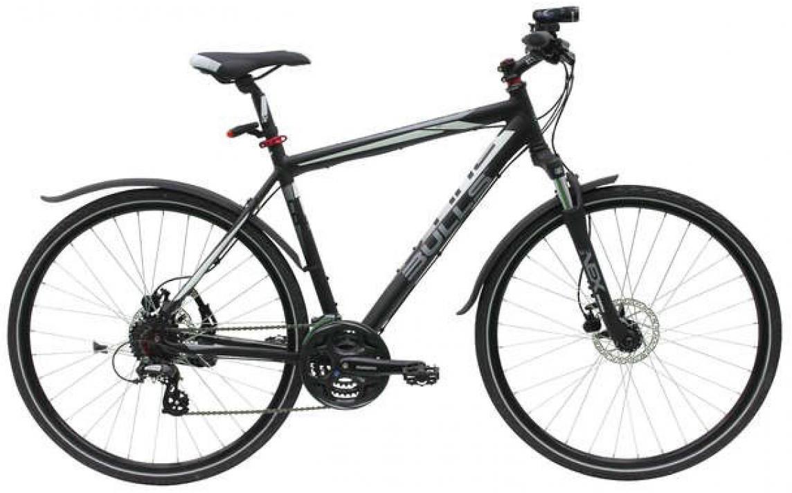 Велосипед городской Bulls Cross Bike Street 2015, цвет: черный, рама 21,5, колесо 28129079