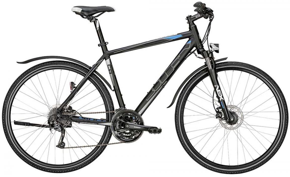 Велосипед городской Bulls Street Flyer 2015, цвет: черный, рама 17,5, колесо 28. 0129082129082
