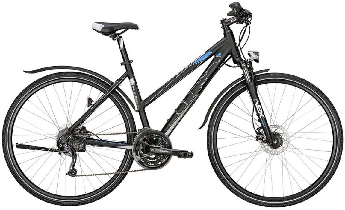 Велосипед женский Bulls Street Flyer Lady 2015, цвет: черный, рама 19, колесо 28129088
