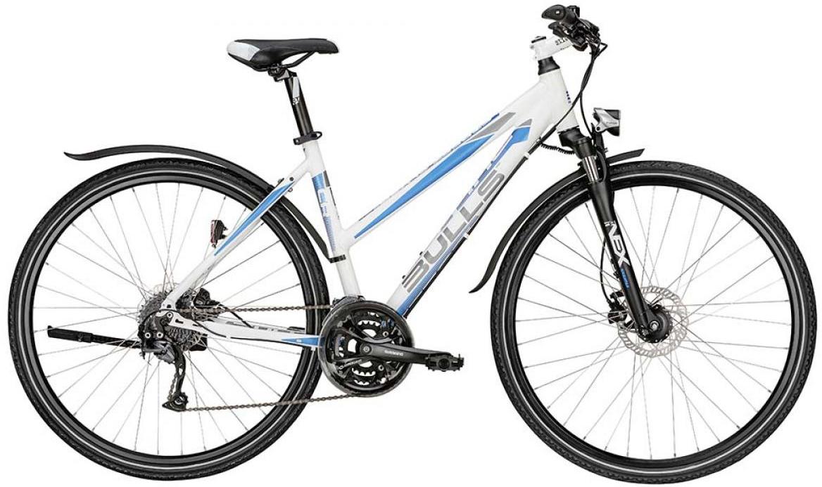 Велосипед женский Bulls Street Flyer Lady 2015, цвет: белый, рама 17,5, колесо 28129090