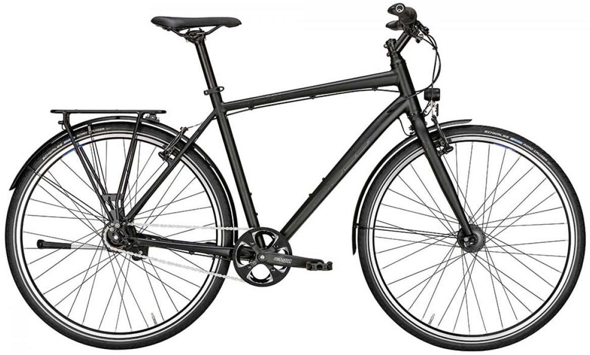 Велосипед городской Bulls Urban 8 2015, цвет: черный, рама 23, колесо 28129131
