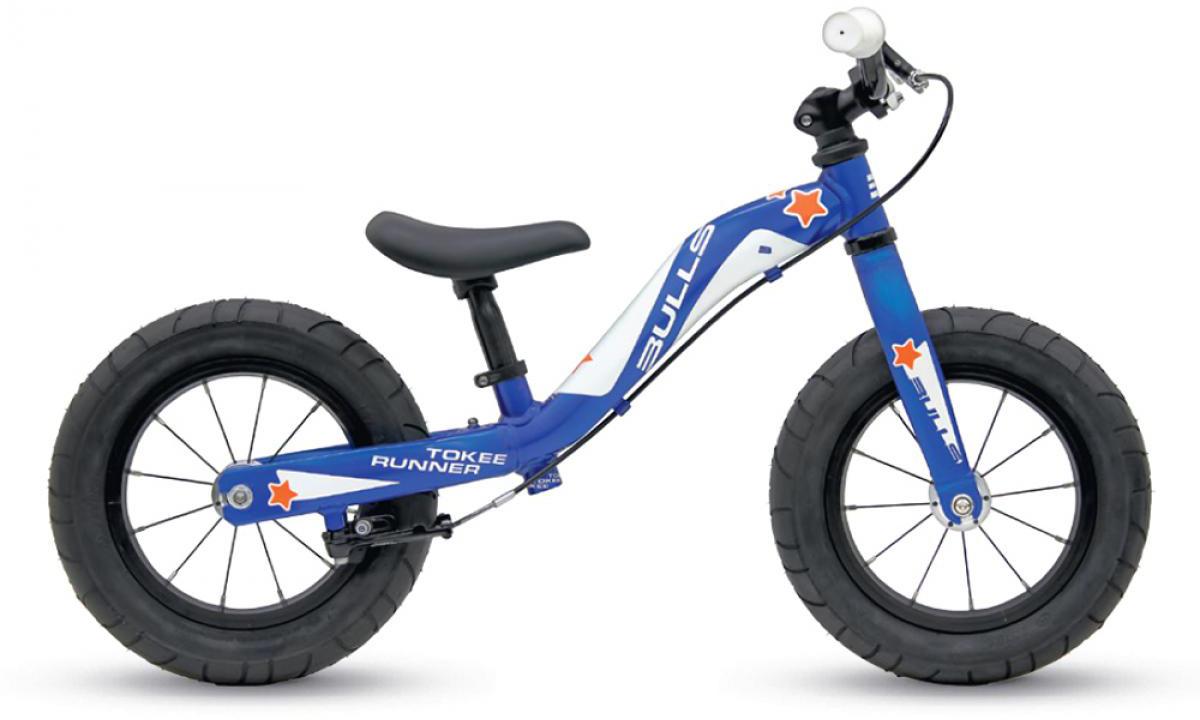 Велосипед детский Bulls Tokee Runner Boy 2015, цвет: синий, колесо 12129142