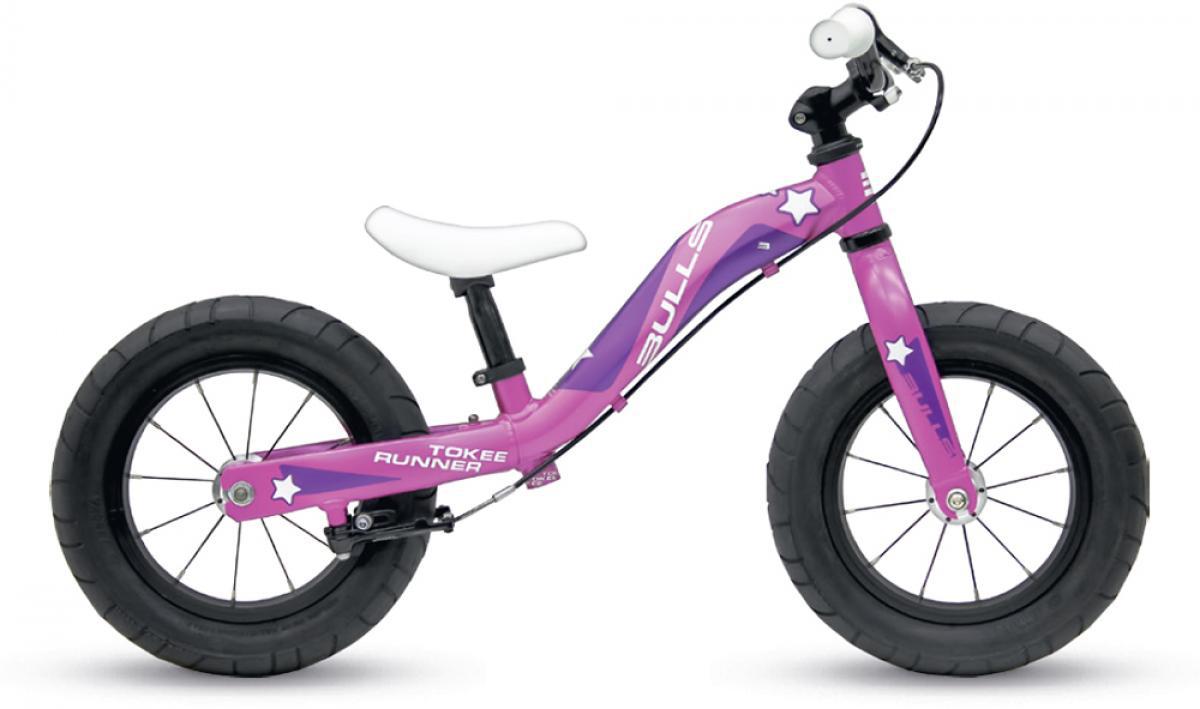 Велосипед детский Bulls Tokee Runner Girl 2015, цвет: розовый, колесо 12129143