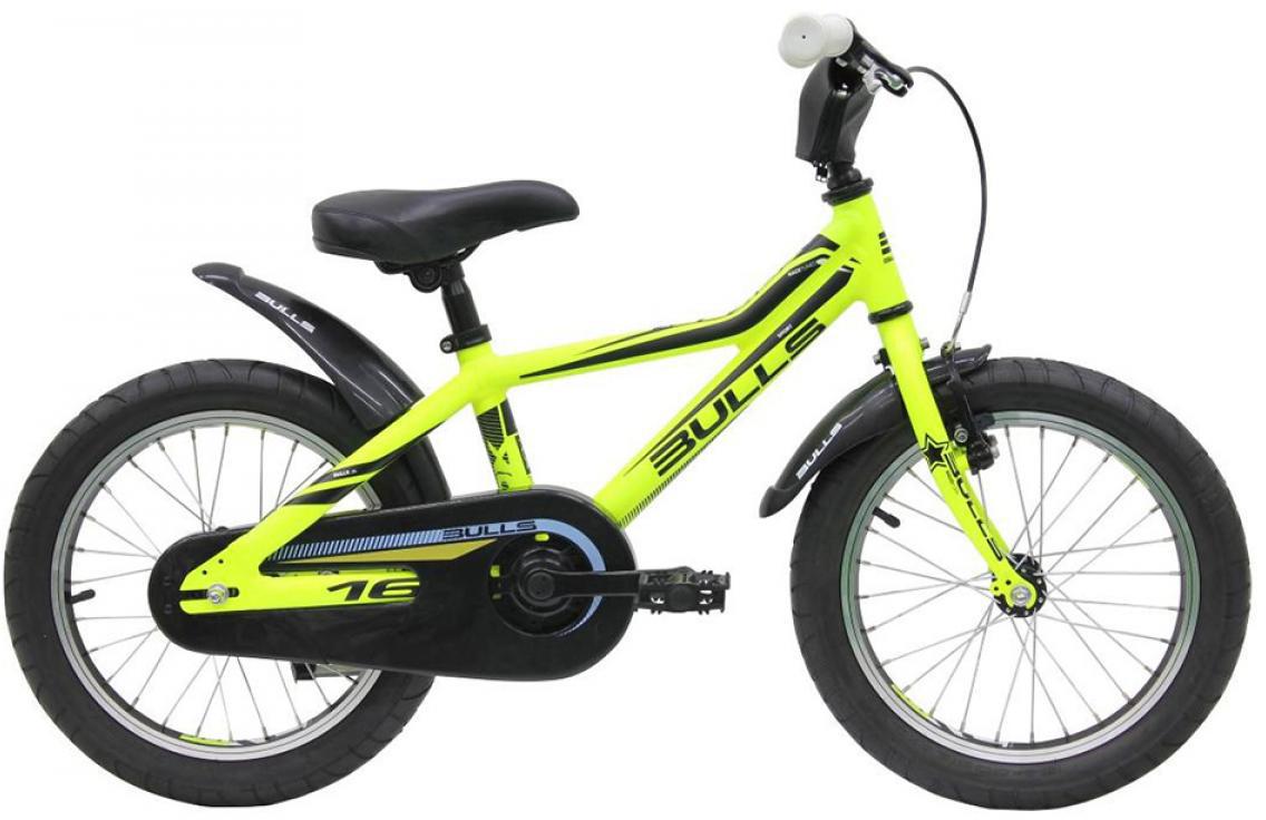 Велосипед детский Bulls Tokee Lite 2015, цвет: черный, колесо 16129149