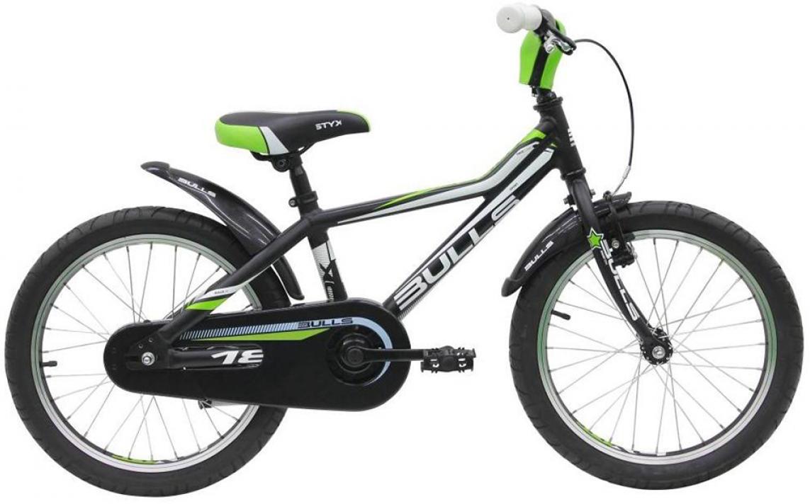 Велосипед детский Bulls Tokee Lite 2015, цвет: черный, колесо 18129153
