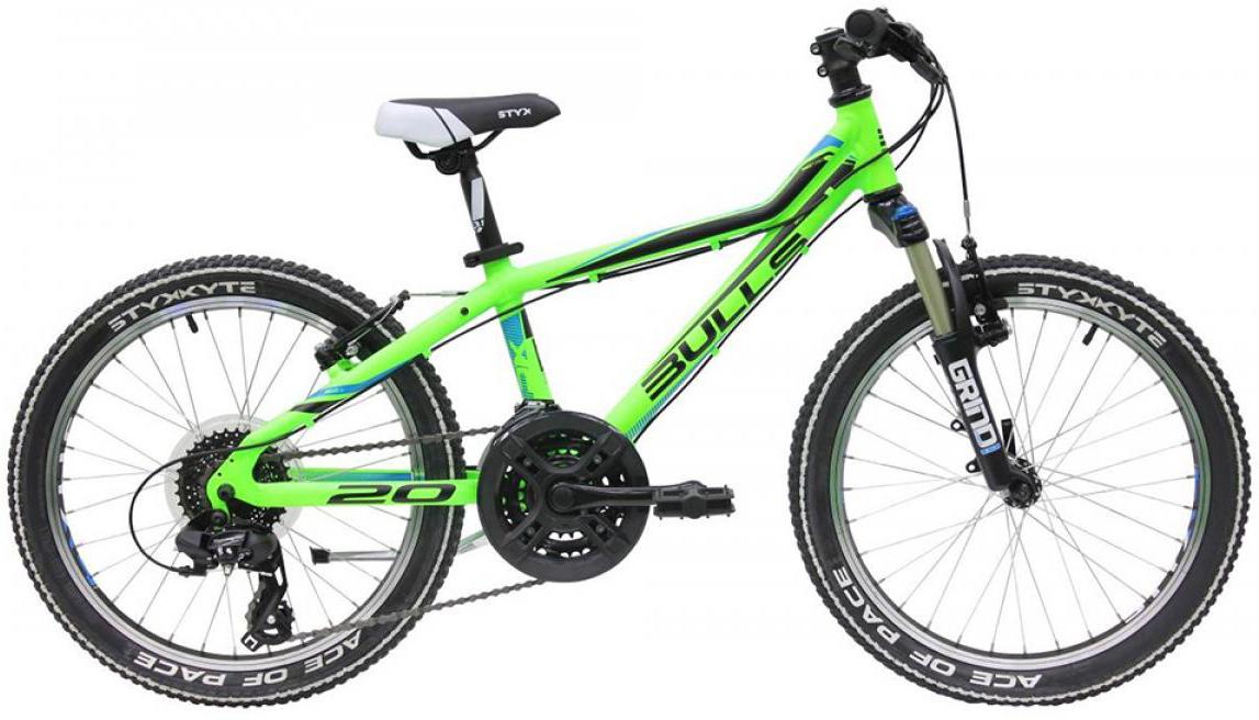 Велосипед детский Bulls Tokee Lite 2015, цвет: зеленый, колесо 20129160