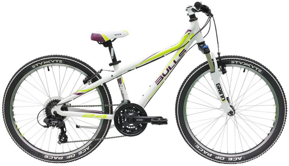 Велосипед детский Bulls Tokee Lite 2015, цвет: белый, колесо 24129163