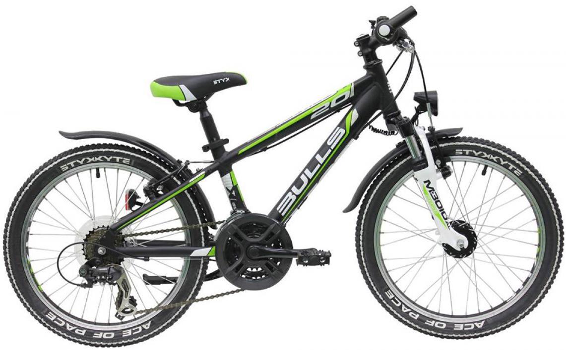 Велосипед детский Bulls Tokee Street (Boy / 18sp) 2015, цвет: синий, колесо 20129215